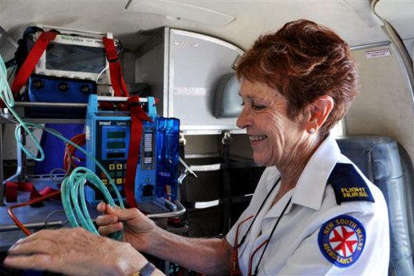 Meet the oldest Air Ambulance Nurse in Australia