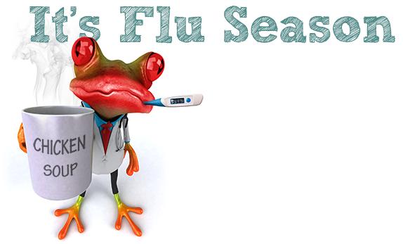 Flu season is nothing to sneeze at
