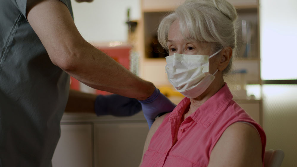 """""""Women & Over-55s Most Reluctant to be Vaccinated"""""""